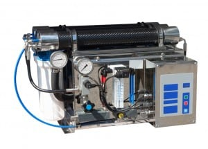 Reverse osmosis system.