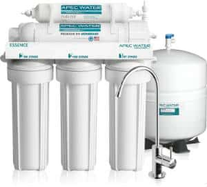 APEC 5 Stage Water Filter Review - Top Tier - Built in USA - Ultra Safe, Premium 5-Stage Reverse Osmosis Drinking Water Filter System Review