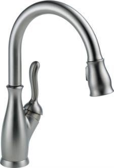 Delta Faucet 9178-AR-DST Leland Single Handle Pull-Down Kitchen Faucet with Magnetic Docking Arctic Stainless review