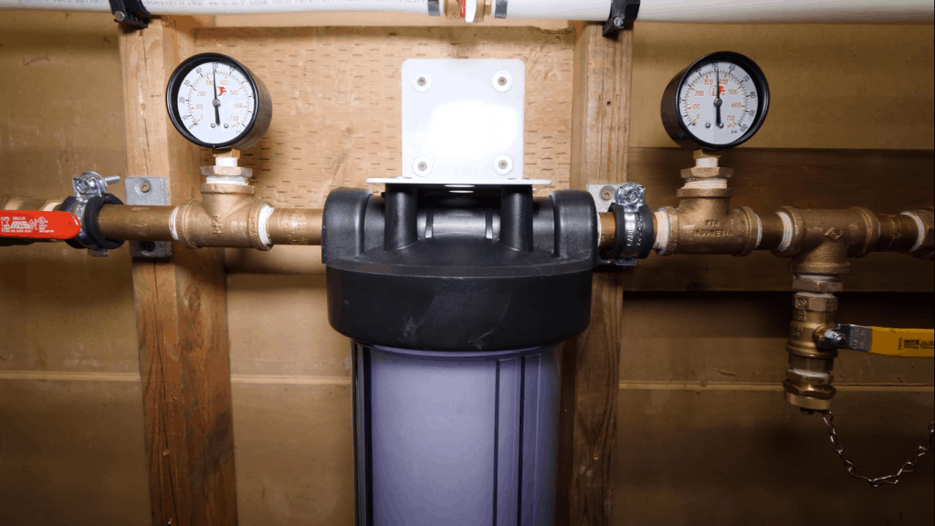 Where Should a Whole House Water Filter be Installed?