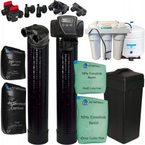 AFWFilters WS48 GreenFlo Upflow Water Softener